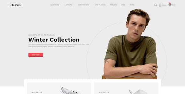 Classio Fashion Responsive OpenCart 3 Theme