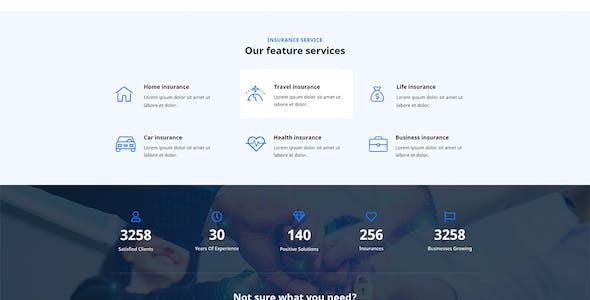 Vinso | Insurance Elementor Template Kit
