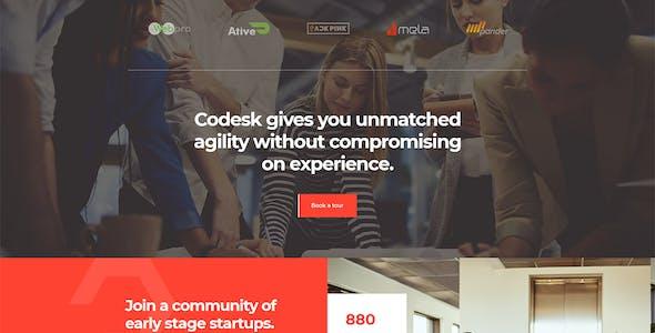 Codesk - Coworking Space Elementor Template Kit