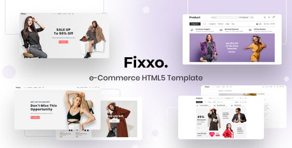 Fixxo - eCommerce Html Template
