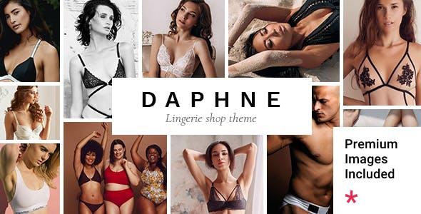 Daphne - Lingerie Shop Theme