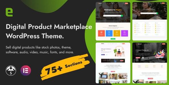 Eidmart | Digital Marketplace WordPress Theme - eCommerce WordPress