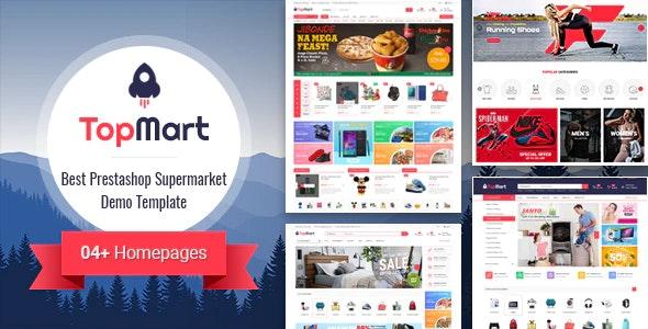 TopMart - MultiPurpose Responsive PrestaShop Theme - Shopping PrestaShop