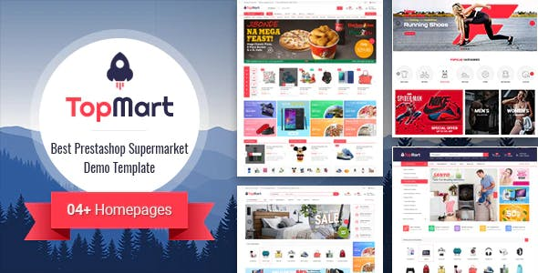 TopMart - MultiPurpose Responsive PrestaShop Theme
