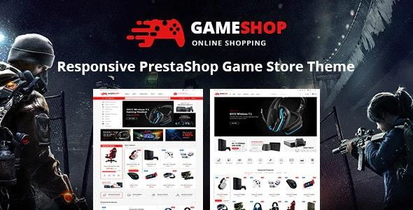 Gameshop - Responsive PrestaShop Shopping Themes - Shopping PrestaShop