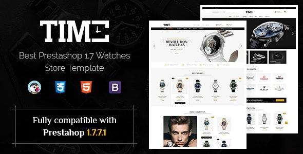 Time - Modern Prestashop 1.7 Watch Store Theme - PrestaShop eCommerce