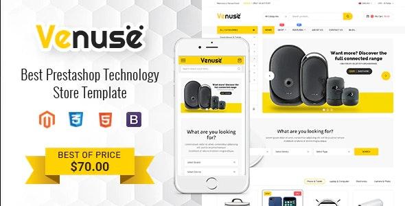 Venuse - Premium Responsive PrestaShop 1.7 Digital Theme - Shopping PrestaShop