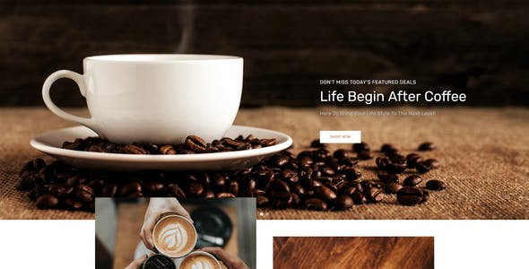 CoffeeZone Multipurpose E-commerce Shopify Template
