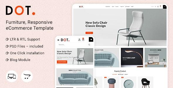 Dot Furniture Responsive OpenCart 3 Theme - Shopping OpenCart