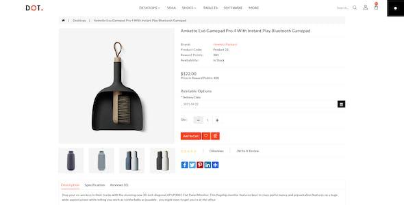 Dot Furniture Responsive OpenCart 3 Theme