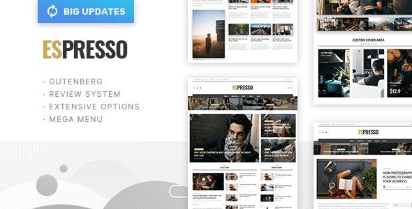 ESPRESSO - Magazine / Newspaper WordPress Theme - News / Editorial Blog / Magazine