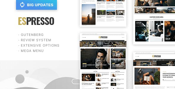 ESPRESSO - Magazine / Newspaper WordPress Theme