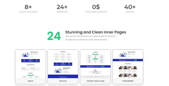 Techcom - Consulting Elementor Kit