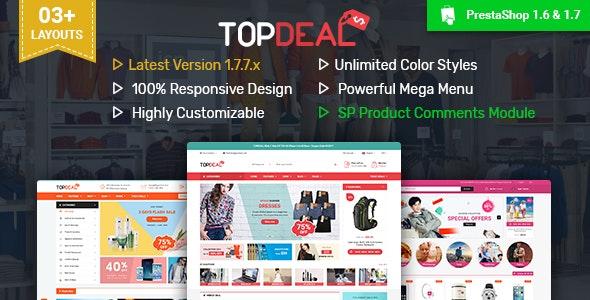 TopDeal - Multipurpose Responsive PrestaShop 1.6 & 1.7 Theme - PrestaShop eCommerce