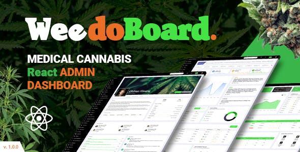 Weedoboard | Cannabis Dashboard React Template