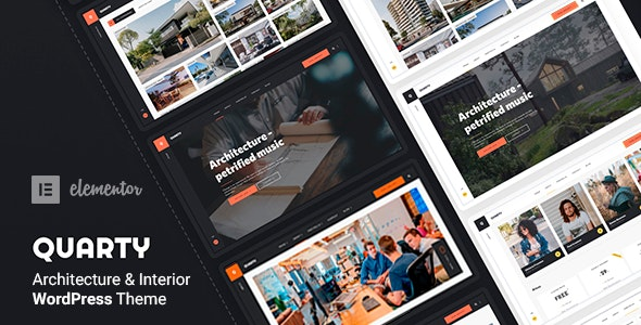 Quarty - Architecture WordPress Theme - Portfolio Creative