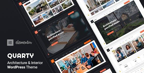 Quarty - Architecture WordPress Theme