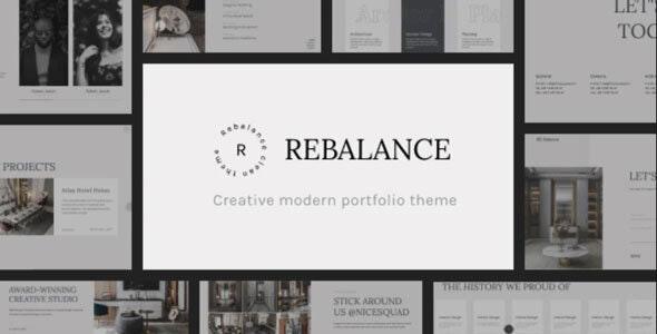 Rebalance - Architecture & Interior HTML5 Template - Portfolio Creative