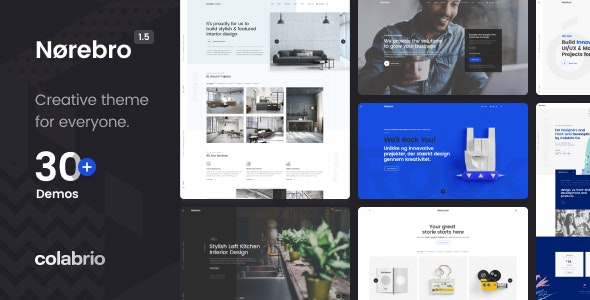 Norebro - Creative Portfolio Theme for Multipurpose Usage - Portfolio Creative