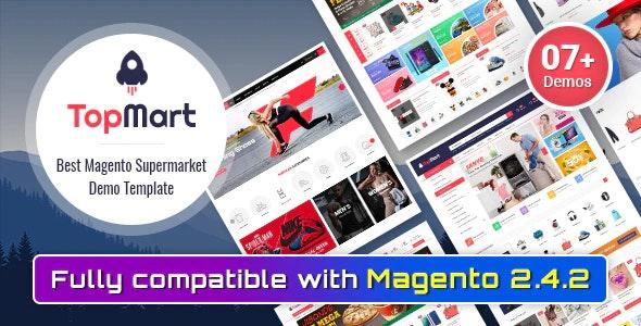 TopMart - MultiPurpose Responsive Magento 2 Shopping Theme - Shopping Magento