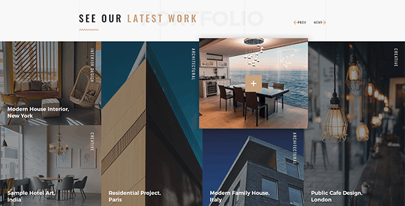 CoDesign - Architect & Interior WordPress Theme