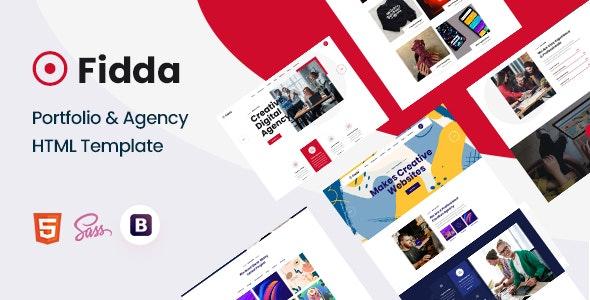 Fidda - Portfolio & Agency HTML5 Template - Creative Site Templates