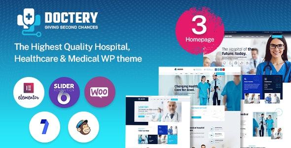Doctery - Hospital and Healthcare WordPress Theme - Health & Beauty Retail