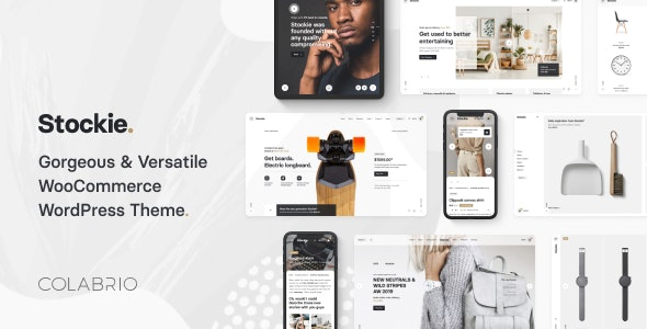 Stockie - Modern Multi-Purpose WooCommerce Theme - WooCommerce eCommerce