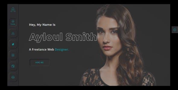 Ayloul - Creative Portfolio Template + RTL