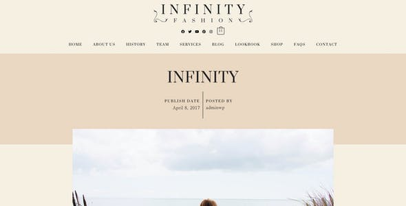 Infinity Fashion - WooCommerce Elementor Template Kit