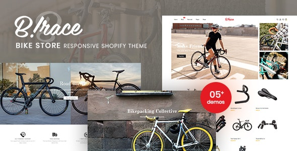 Birace - Bike Store Responsive Shopify Theme - Shopify eCommerce