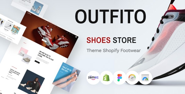 OutFito - Shoes Store Theme Shopify Footwear - Fashion Shopify