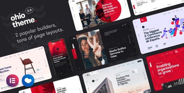 Ohio - Creative Portfolio & Agency WordPress Theme