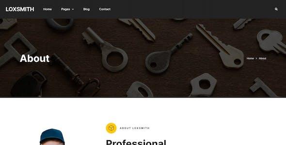 Loxsmith — Key & Locksmith Services Elementor Template Kit