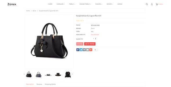 Zonex Multipurpose E-commerce Shopify Template
