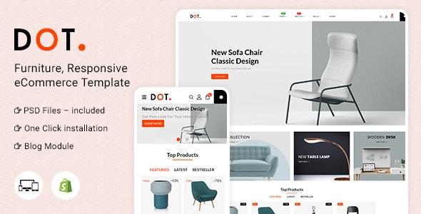 Dot Furniture Shopify Responsive Theme - Shopping Shopify