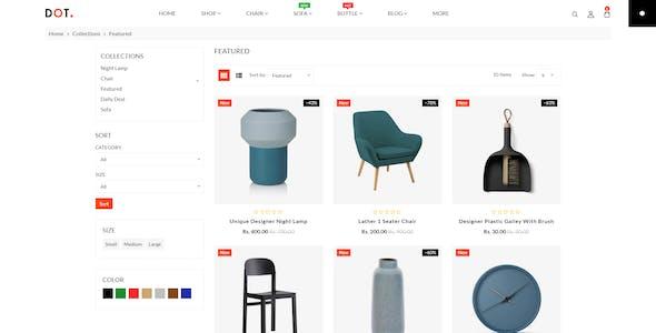 Dot Furniture Shopify Responsive Theme