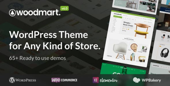 WoodMart - Responsive WooCommerce WordPress Theme