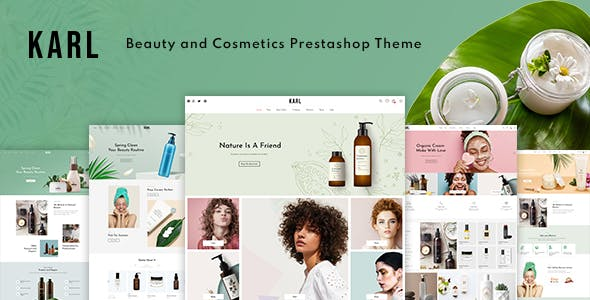 Karl - Beauty & Cosmetics Prestashop 1.7 Theme