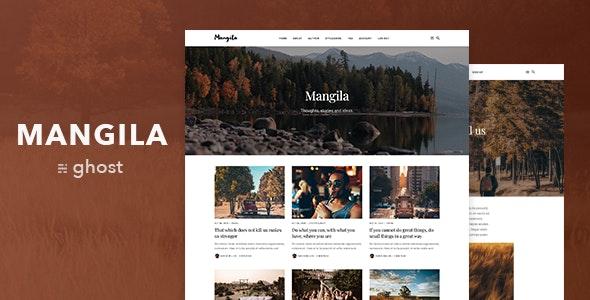 Mangila — Minimalistic and Elegant Ghost Blog Theme - Ghost Themes Blogging