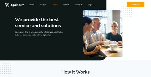 Corpo - Corporate Business Elementor Template Kit