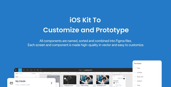 i-Learning - Education App UI Kit