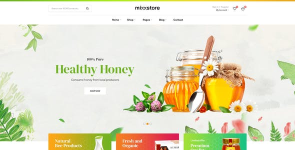 Mixxcazt - Creative Multipurpose WooCommerce Theme