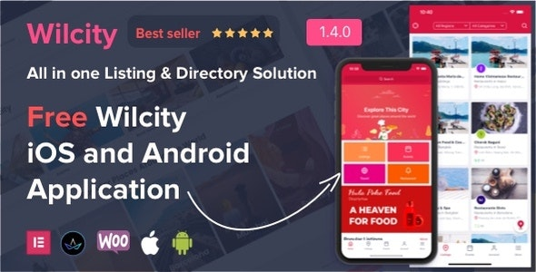 Wilcity - Directory Listing WordPress Theme - Directory & Listings Corporate