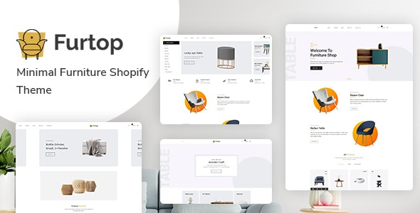 Furtop v1.0 – Minimal Furniture Shopify Theme
