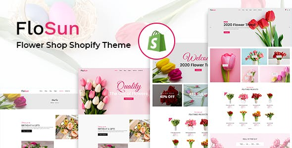 Flosun - Flower Shop Shopify Theme