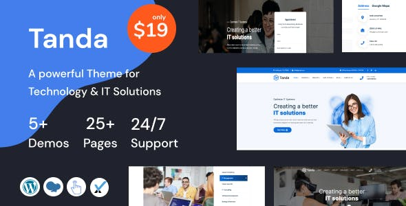 Tanda - Technology and IT Solutions Theme