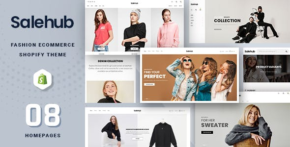 SaleHub - Clothing and Fashion Shopify Theme