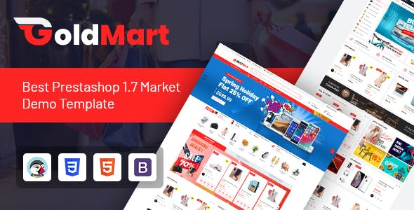 Goldmart - Multipurpose Prestashop 1.7 Theme