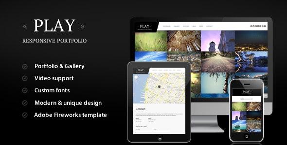 Play - Responsive Portfolio for WordPress - Portfolio Creative